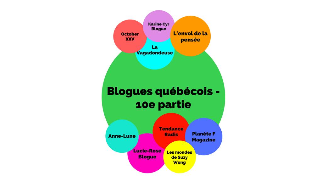 Blogues québécois - 10e partie