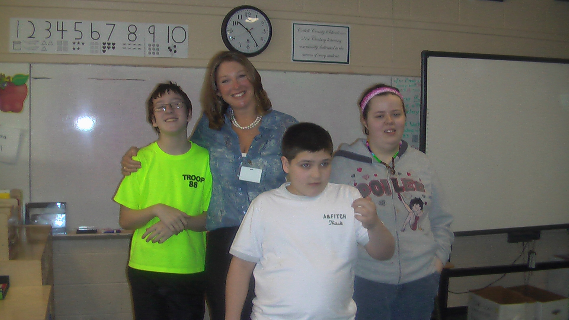Thanks To Enslow Middle School S Autism Classroom For