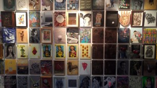 The Wall of Small Canvas Paintings