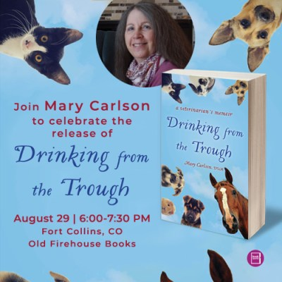 Launch party for Drinking From the Trough, August 29, 2018