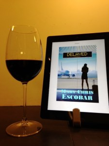 book and wine