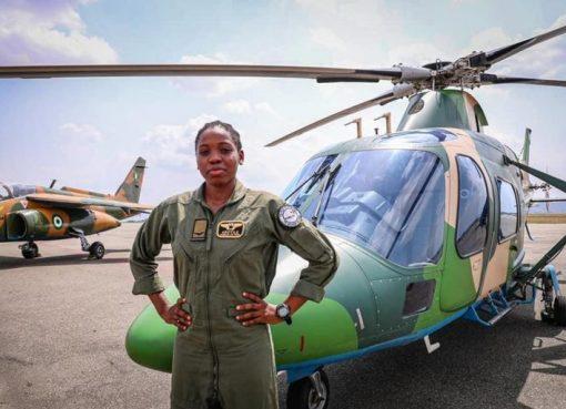President Buhari Mourns Tolulope Arotile