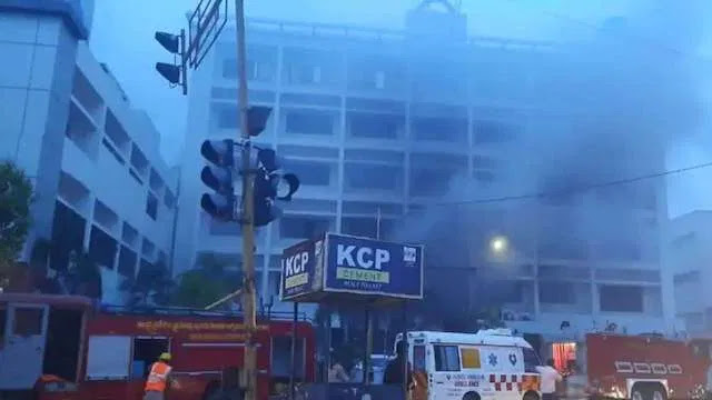 10 COVID-19 patients die in fire at isolation centre, 10 injured