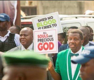 Pastor Adeboye: Lekki Toll Gate Massacre Could Complicate Things