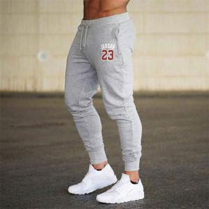 Men Joggers Jordan 23 Casual Men Sweatpants Gray Joggers