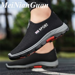 Man Slip on Summer Shoes Big Size Sneakers Men