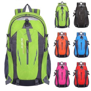 Men 40L Waterproof travel Backpack Cacual Hiking Cycling Outdoor