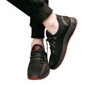 Men's Mesh Breathable Sneakers Non-slip Running Shoes