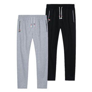 Men Joggers Track Pants Elastic Waist Sport Casual Trousers