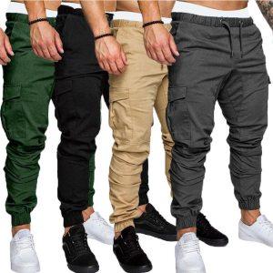 ZITY Cargo Pants Men Sweatpants Pants Joggers Mens