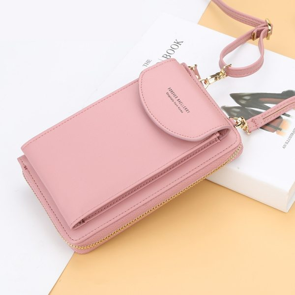 Women Wallet Famous Brand Cell Phone Bags Big Card Holders