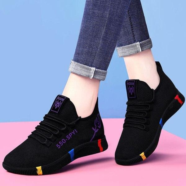Women Casual Shoes Breathable Mesh Platform Sneakers Women