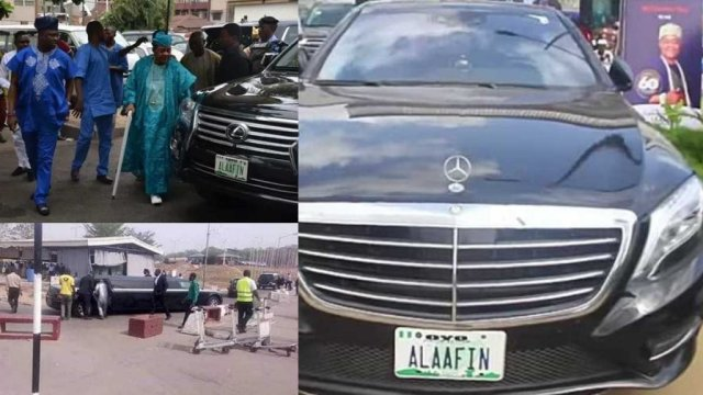 Alaafin of Oyo cars