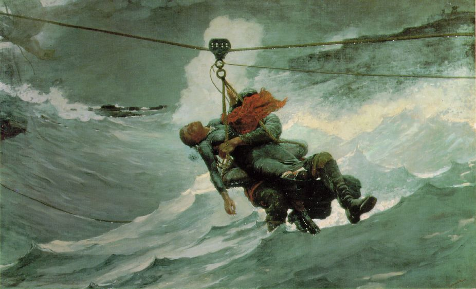 Winslow Homer's Tumultuous Seas and Passive Women (1/4)