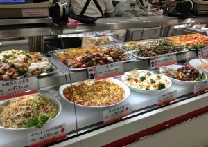 Tokyo food hall