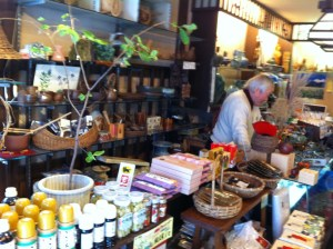 Traditional shop in Nozawa Onsen