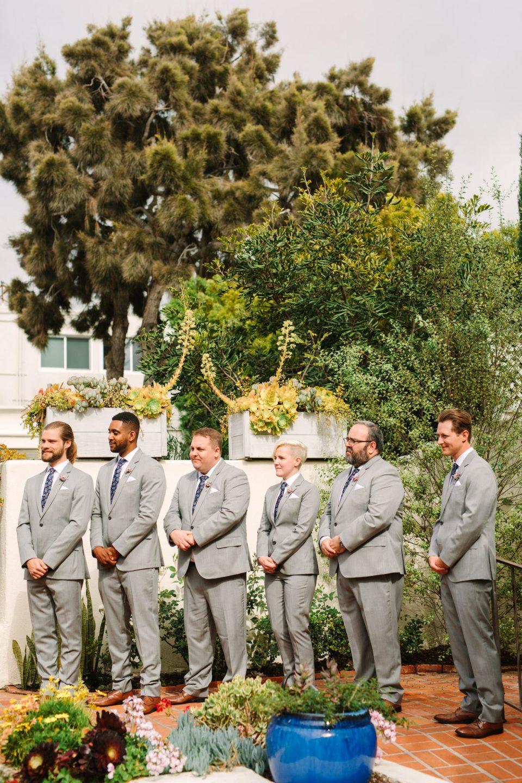Wedding party at Darlington House ceremony - www.marycostaweddings.com