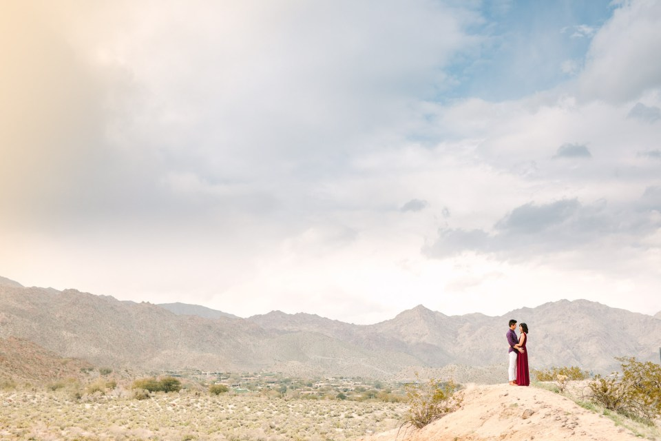 San Jacinto Mountains engagement session by Mary Costa Photography