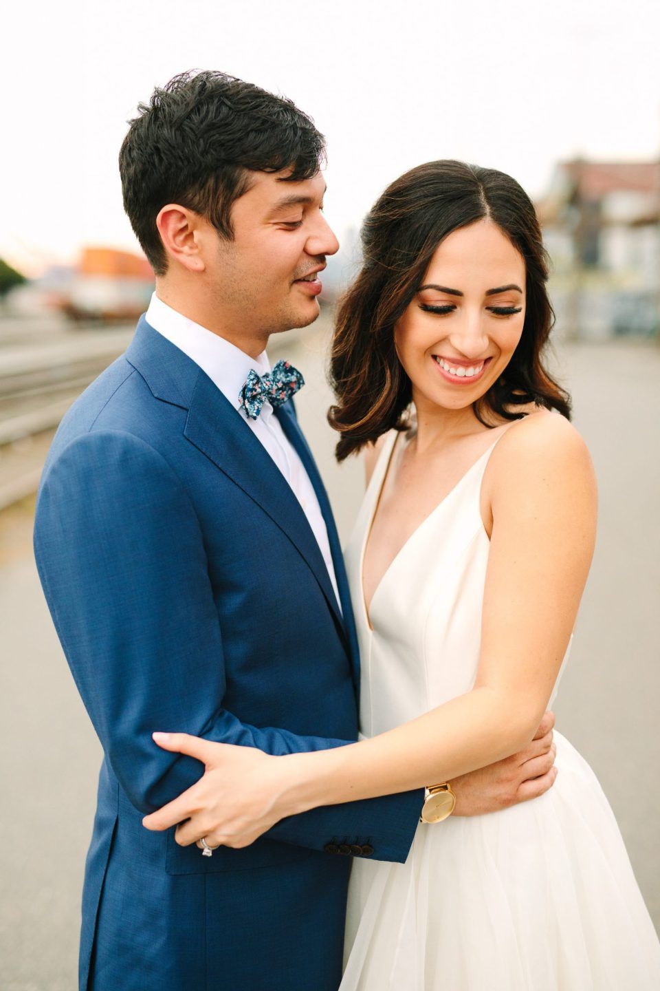 Seattle wedding portrait by Mary Costa Photography