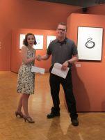 Recieving the Dan Favor Unconventional Artist Scholarship