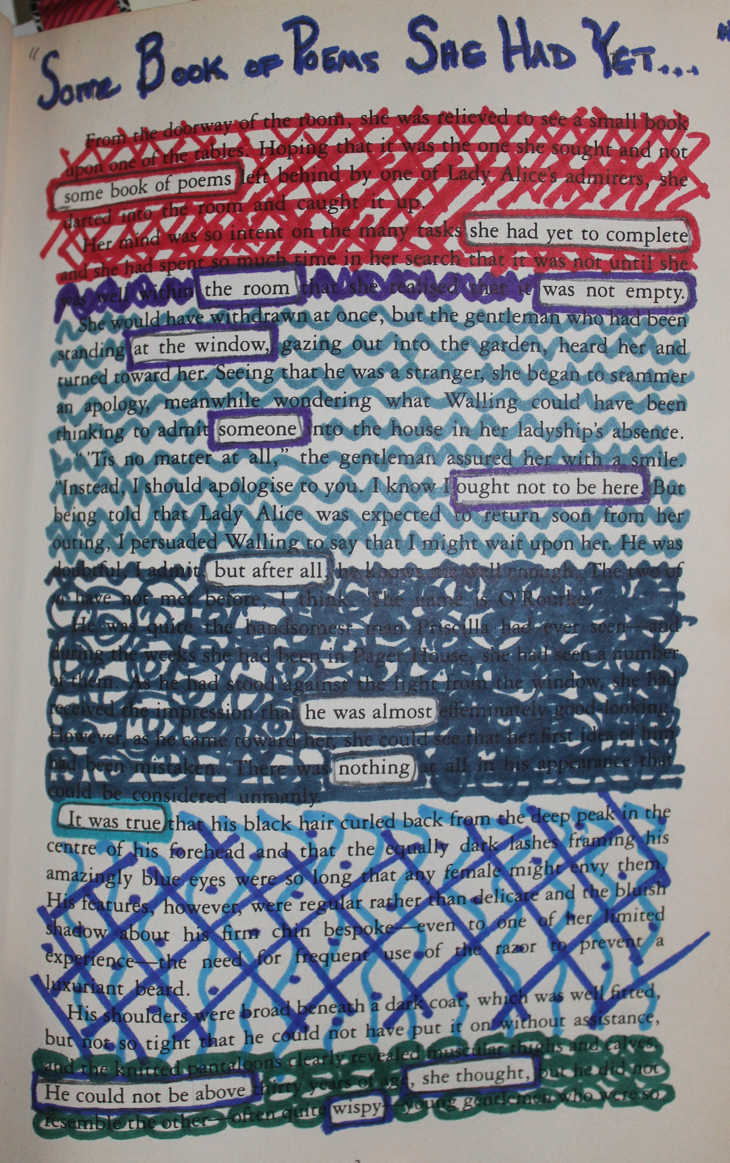 Collage Poem – Mary Crockett – Young Adult Author