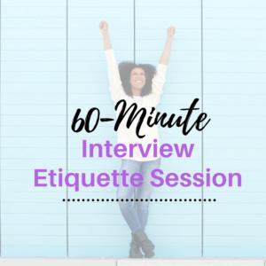 60-minute-interview-etiquette