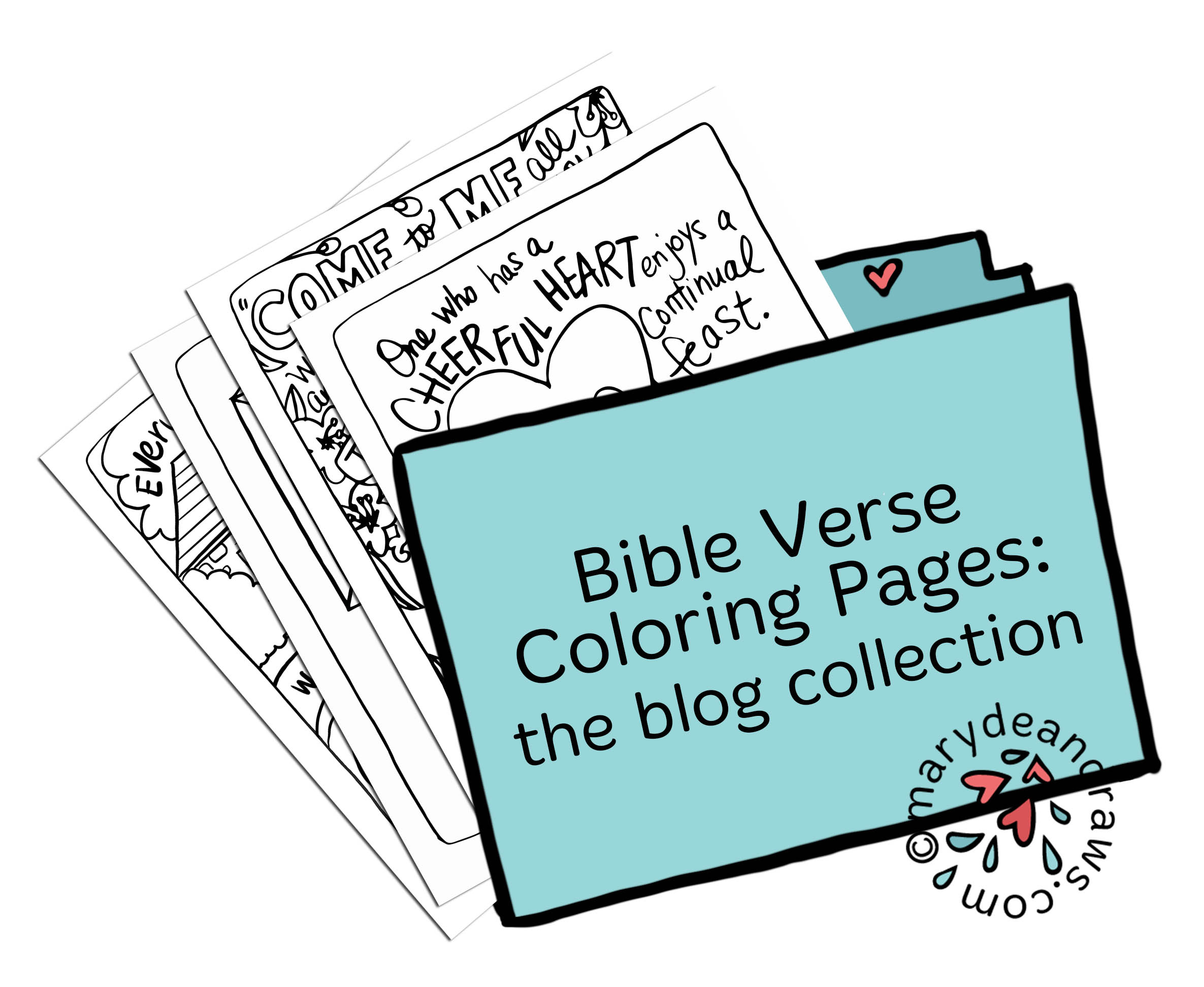 Printable Bible Verse Coloring Pages Blog Collection 64 Pages