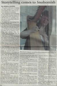 Snohomish County Tribune Article