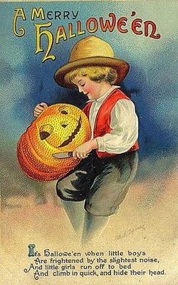 Vintagehalloweenlittleboycarvingp_3