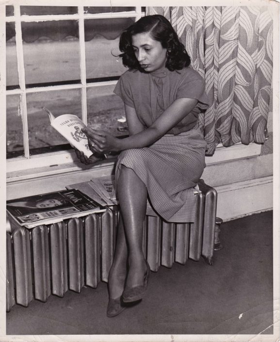 Reading her first publication the Negro Business Directory of Wisconsin