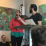 Merhawit berättar om sin erfarenhet och vad hon gör idag för att främja integration