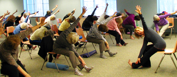 yoga chair exercises for seniors where to buy tommy bahama beach senior bliss