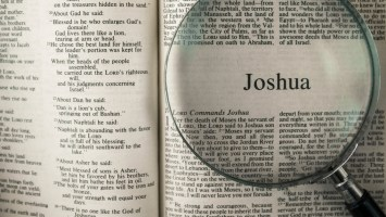 THE BOOK OF JOSHUA, Bible Reading