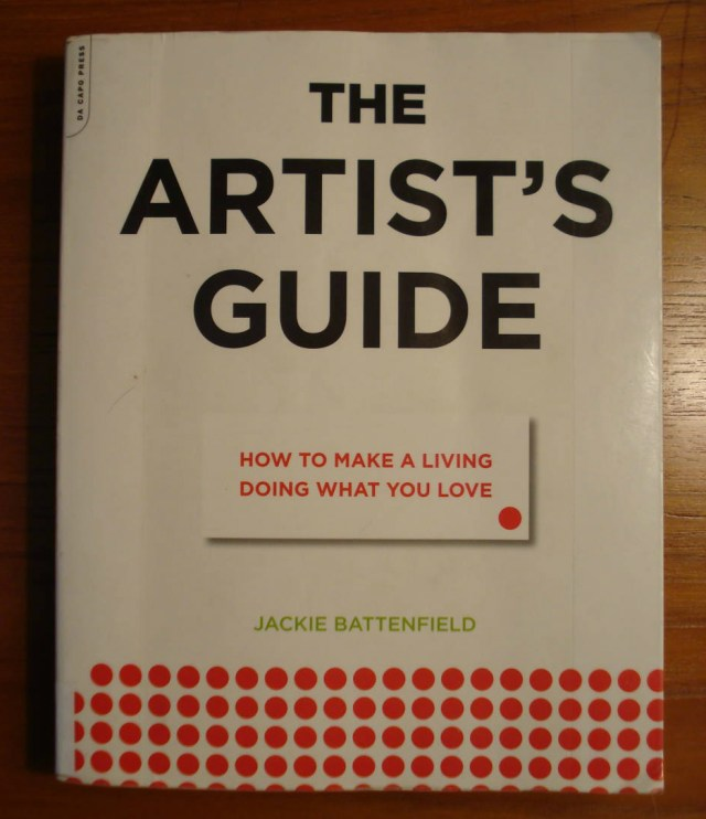 Book: The Artist's Guide by Jackie Battenfield.