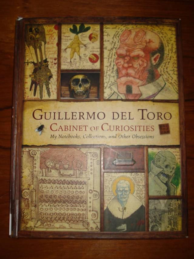 Book: Guillermo del Toro Cabinet of Curiosities.