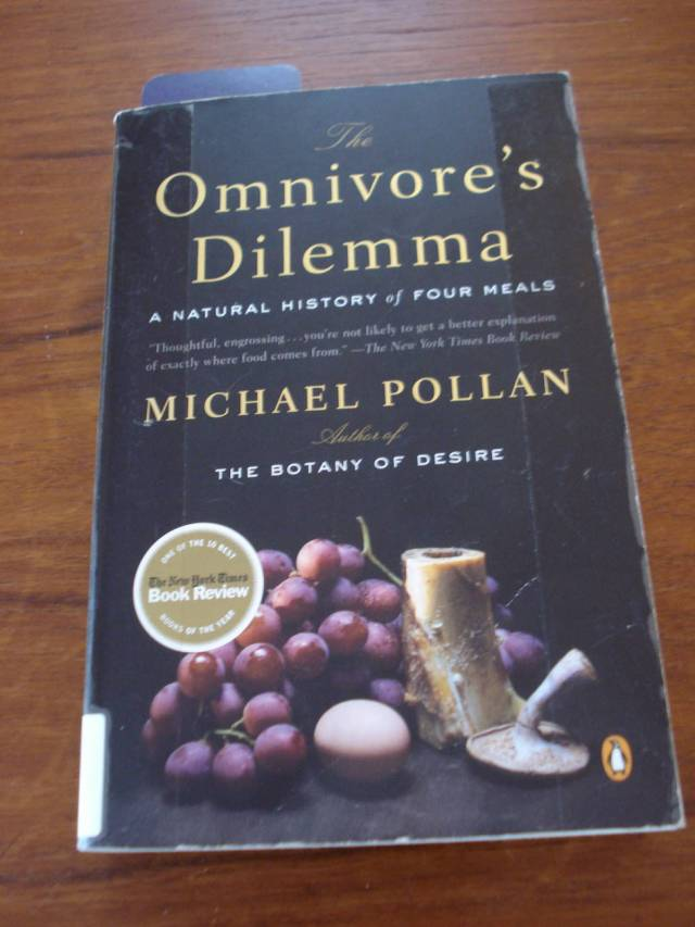 Book: The Omnivore's Dilemma by Michael Pollan.