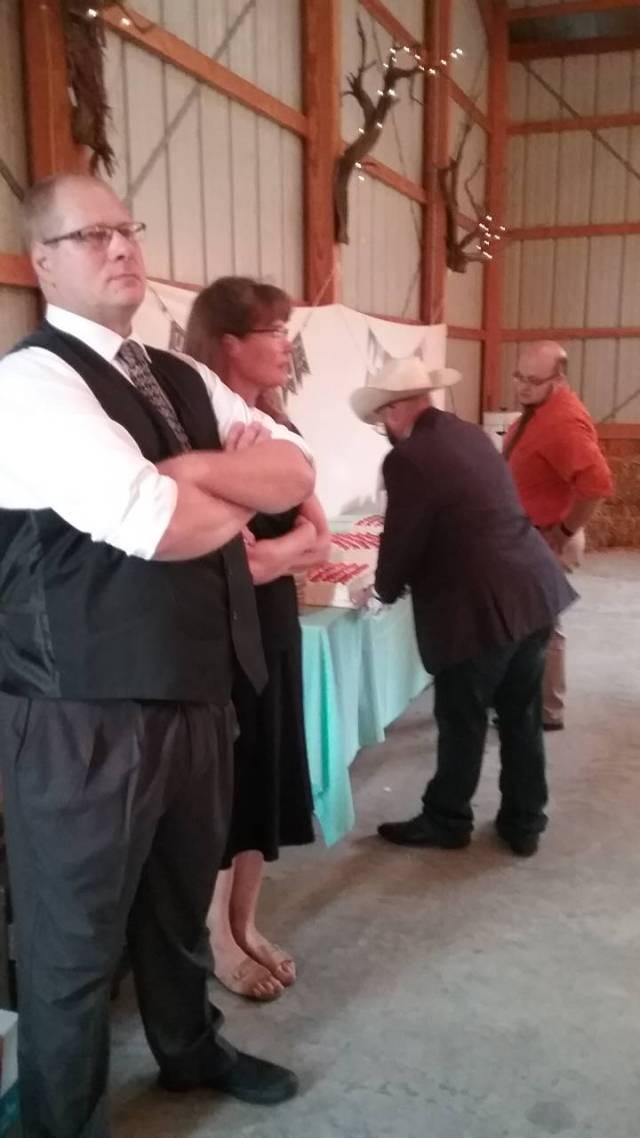 My Erik, Ann Marie, Keith and David. September 10, 2016.