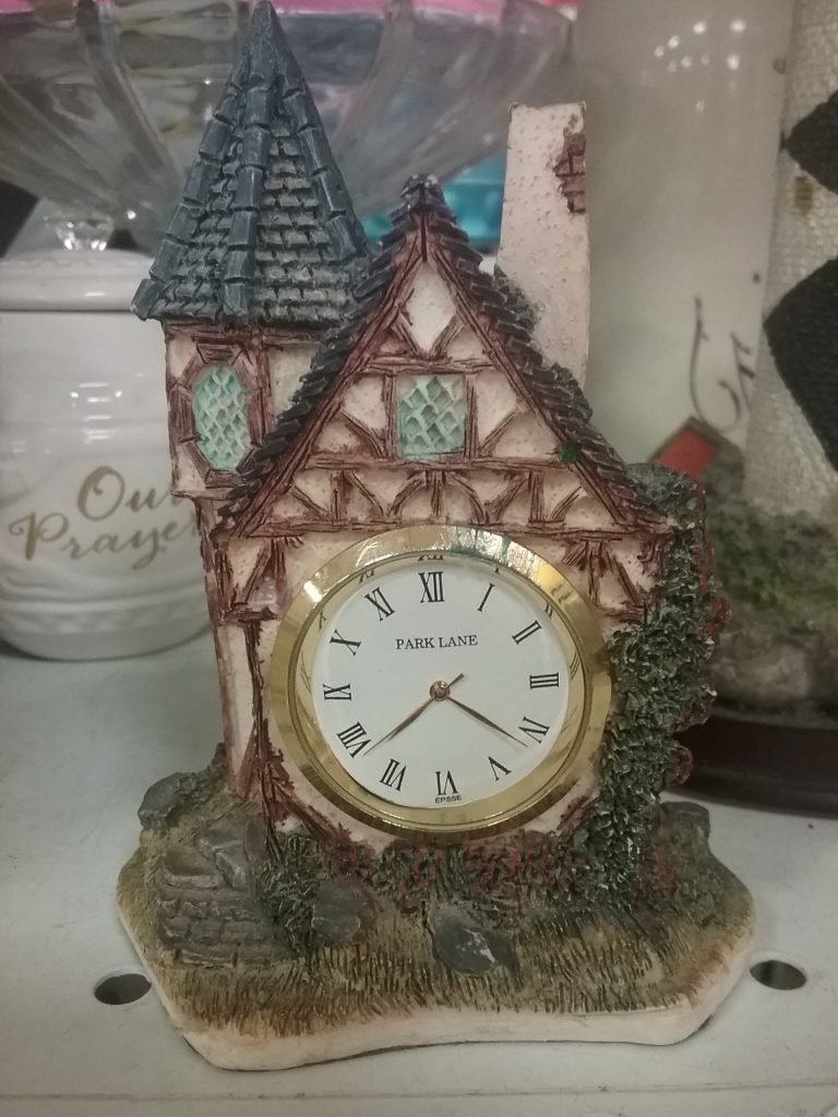 House-shaped clock, 2018.