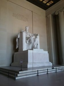 Lincoln Memorial, 2019.