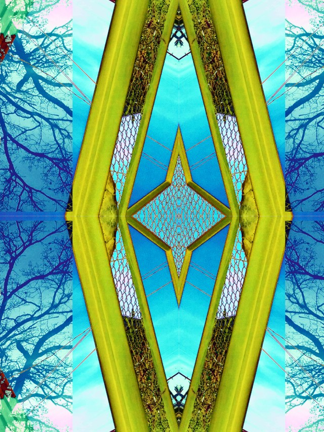 Diamond Reflections by Mary Warner, September 2020.