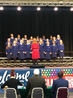 School Choir at Sligo Feis 1