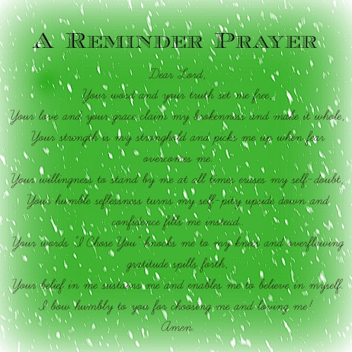This is Amazing Grace: A Reminder Prayer - Mary Geisen