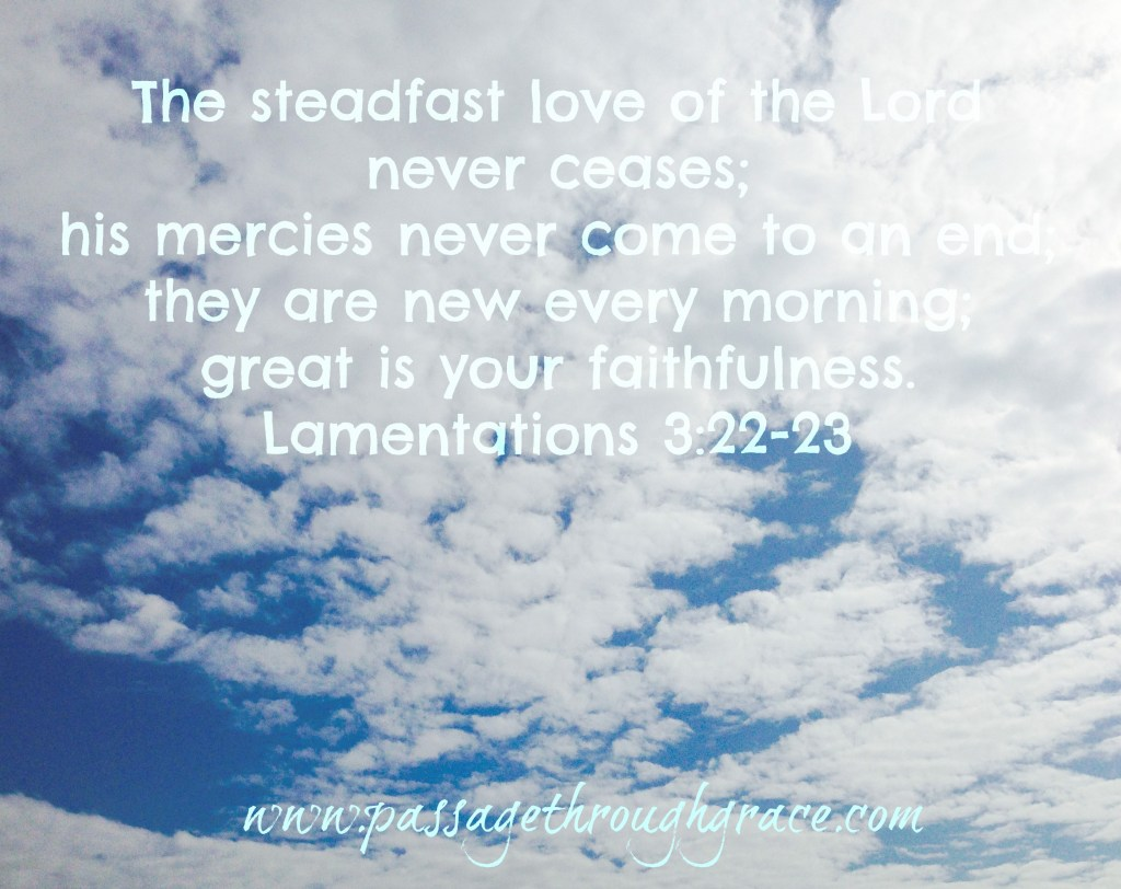 Lamentations 22-22-23