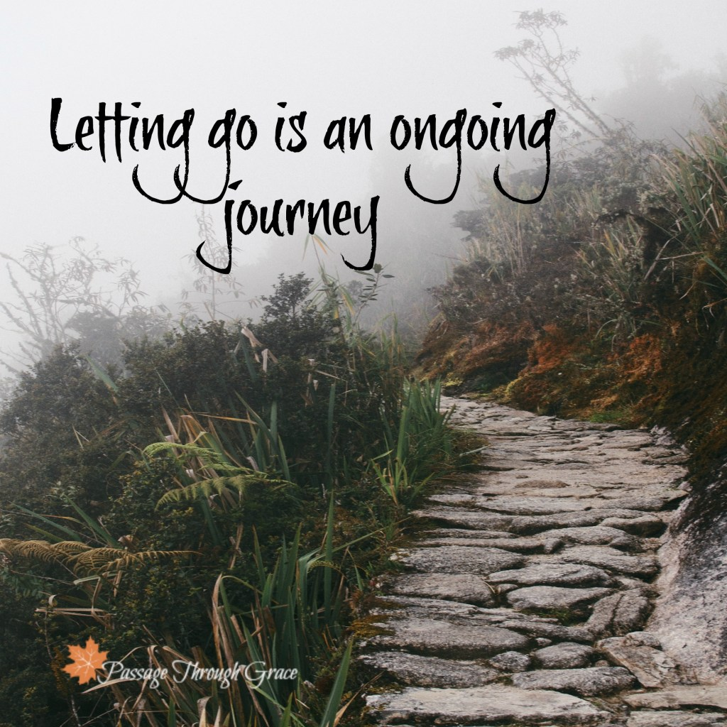 unsplash pathway-letting go
