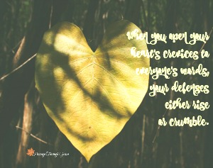 When You Open Your Heart