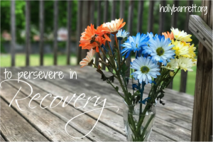 To Persevere in Recovery – Series Part 2