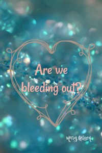 Sabbath Offerings ~ Are We Bleeding Out?