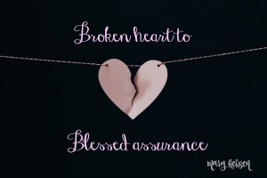 Sabbath Offerings ~ Blessed Assurance