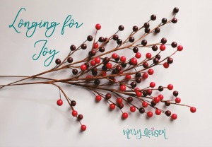Longing for Joy