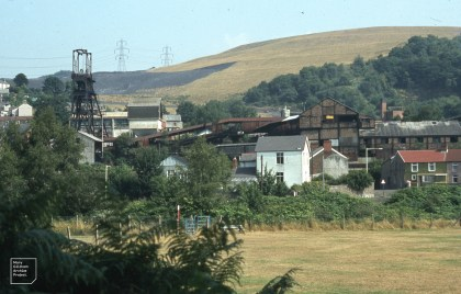 Hopkinstown, Pontypridd mine and rehabilitated tip, 1983